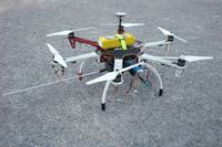 Unmanned Aerial Vehicle (UAV) coupled with a microAeth AE51 thumbnail
